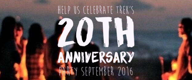 TREK Camp Anniversary Slider